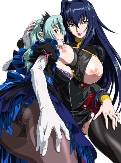 annerose: majo witchslave koutetsu no My little sister is a futa