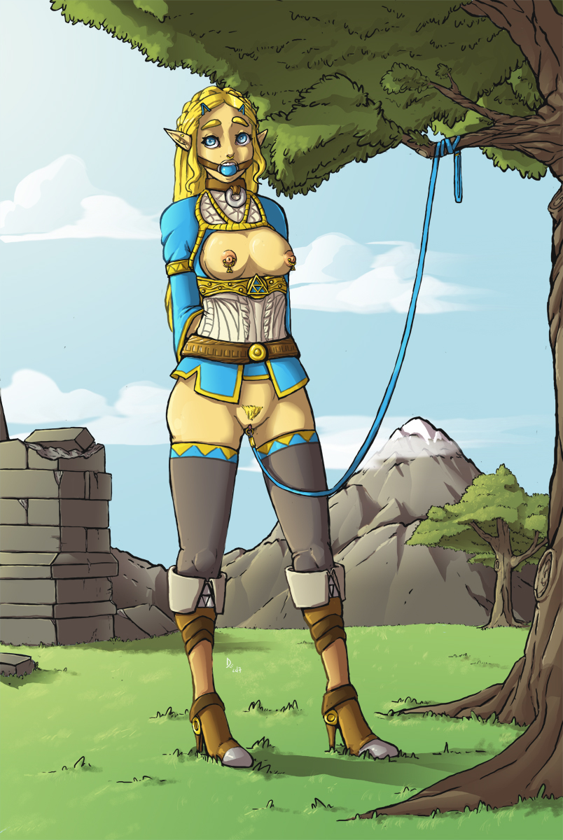 breath of revali wild the Lindsay from total drama island