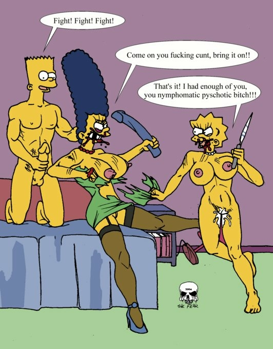 naked marge bart with simpson Xpray the last survivor 3