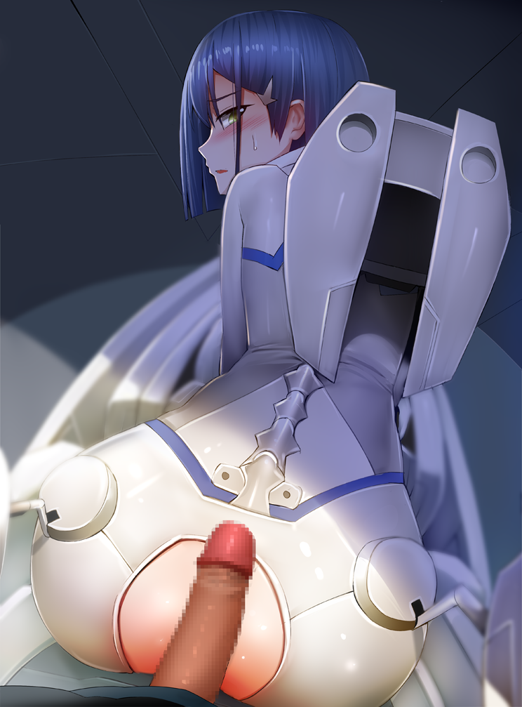 darling from in 002 the franxx League of legends porn sfm