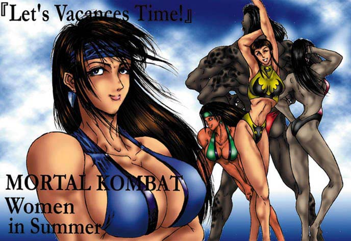 kombat vs.dc catwoman universe mortal Trials in tainted space halloween