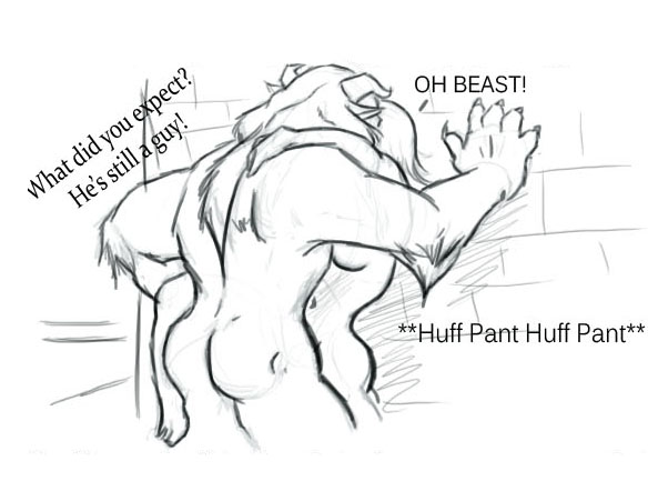 and belle beauty nude beast the What if adventure time was an anime secrets