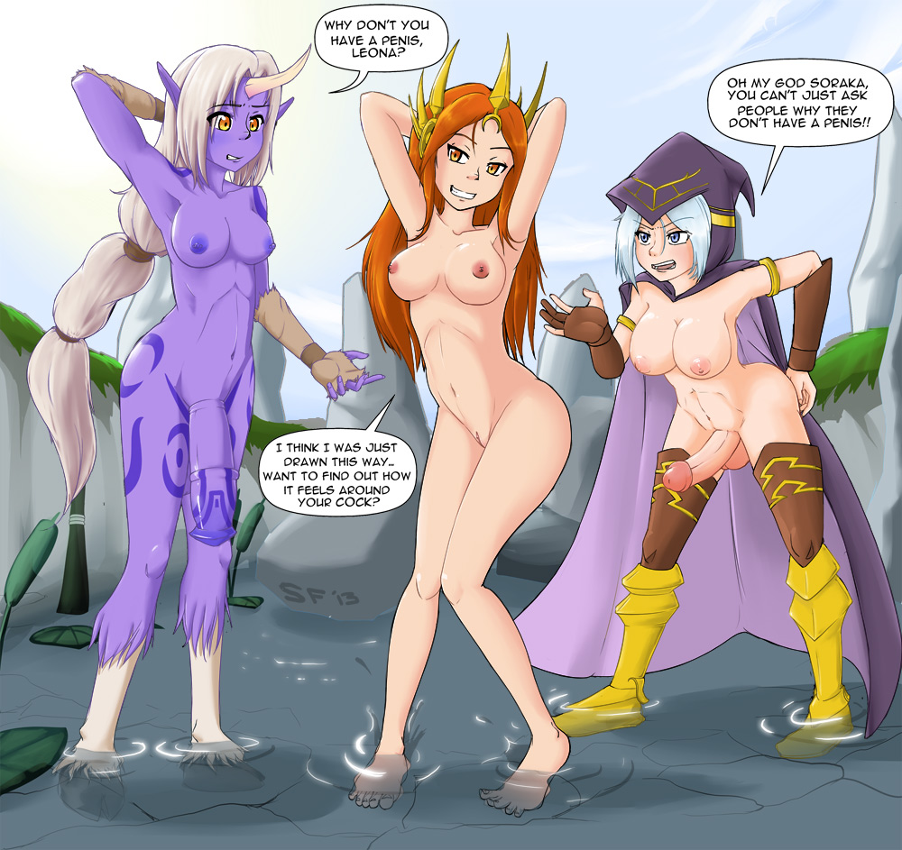 of league ahri legends nude Pelagia shadow of the colossus