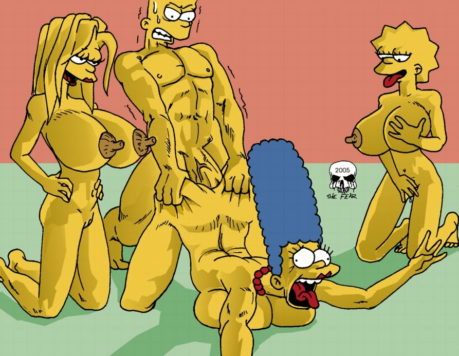 with bart simpson naked marge Terrain of magical expertise rpg