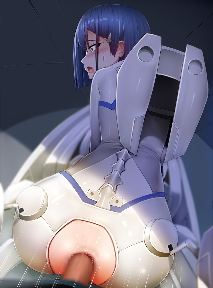 the 002 in franxx from darling Pokemon x and y bonnie porn