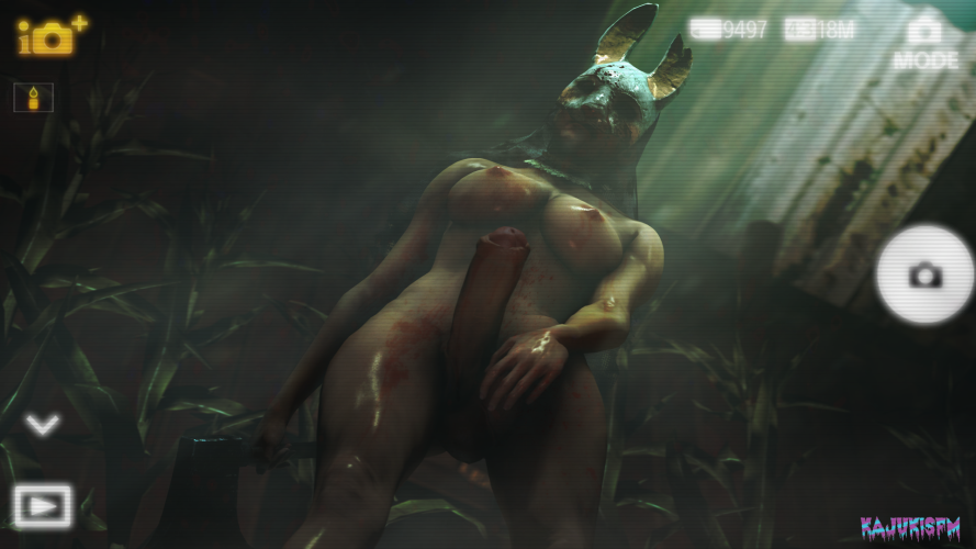 huntress dead by daylight the porn Word around the office is you've got a fat cock
