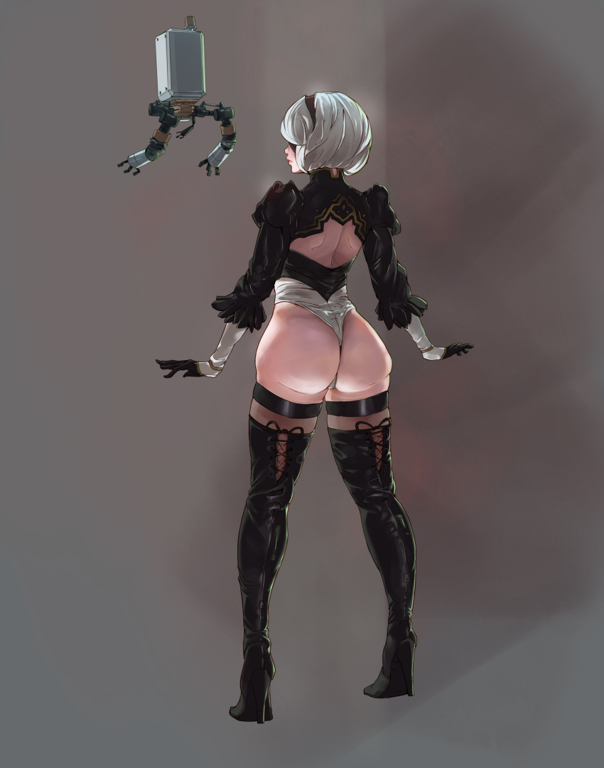 back skirt nier get automata Guys the thermal drill go get it